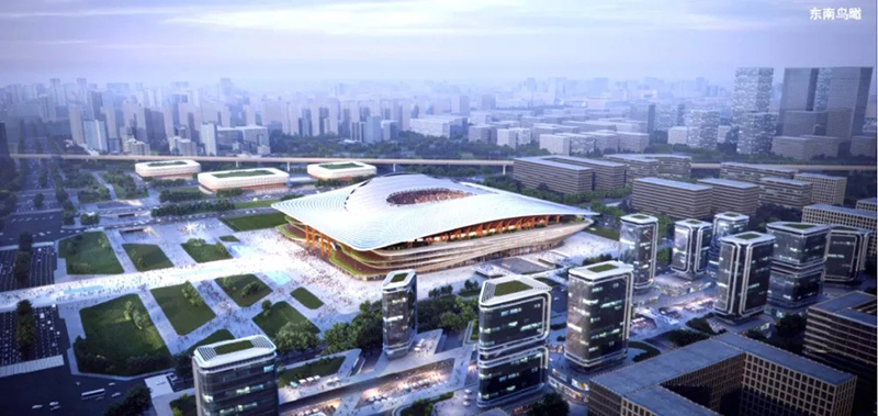 ZHA新作 — 西安国际足球中心