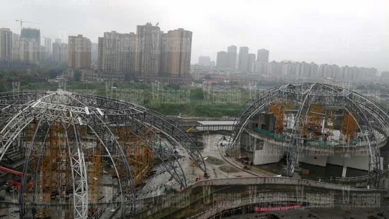 四川彭山训练基地膜结构项目