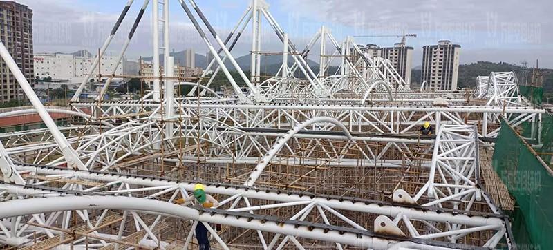 汕尾市体育中心(一期)工程田径场膜结构项目