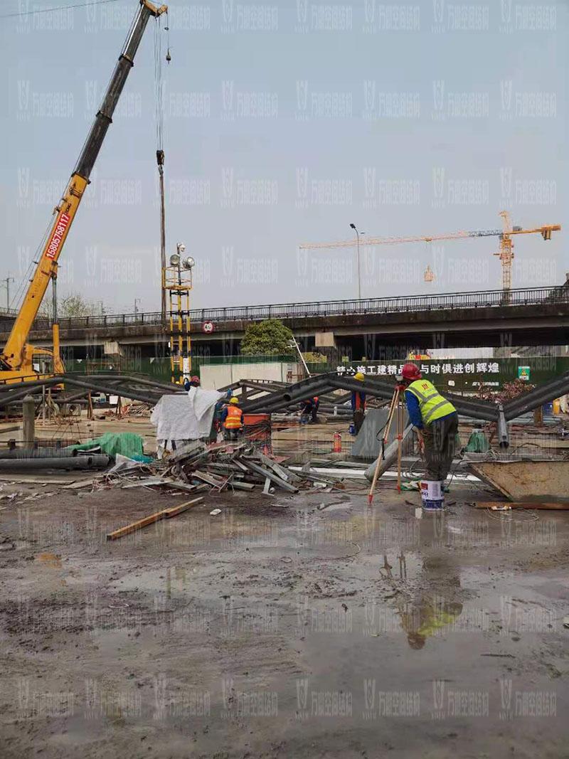 绍兴国际会展中心一期B区会议中心PTFE膜结构工程