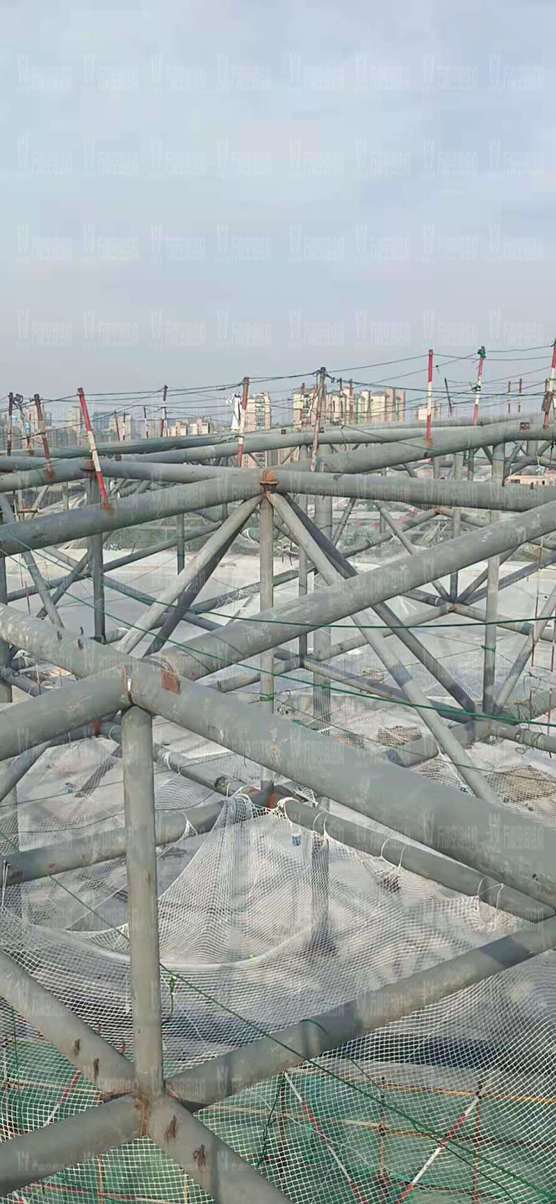 杭州亚运会棒(垒)球体育文化中心膜结构项目开始施工