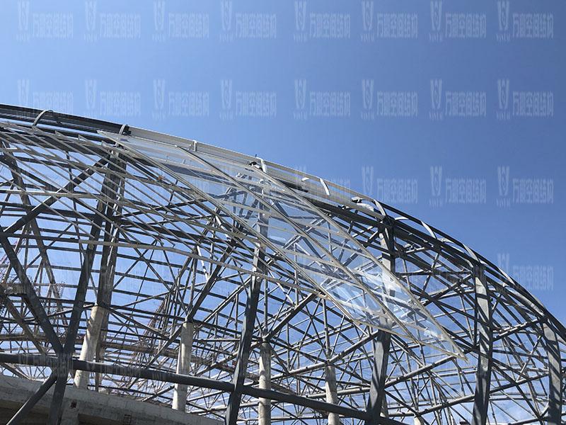 2023年亚洲杯主办场地重庆龙兴足球场项目ETFE屋面膜结构工程