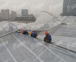 万豪ETFE张拉