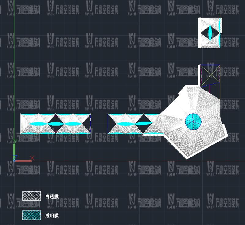 万豪2020第7标-新泰卓越·财富广场膜结构项目