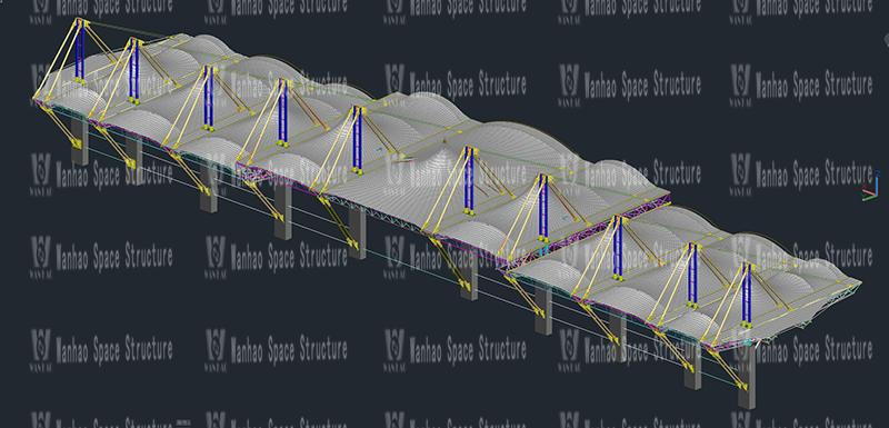 万豪2020第10标-汕尾市体育中心(一期)工程田径场膜结构项目