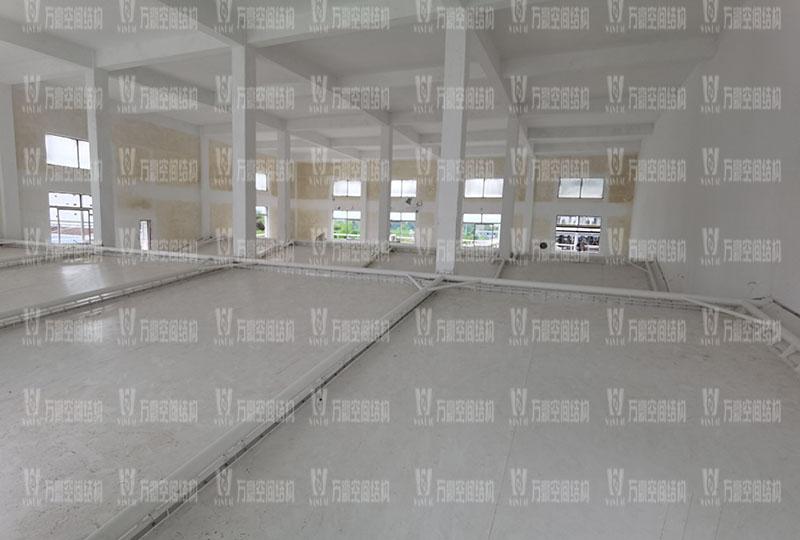 浙江仙琚制药股份有限公司废水站室内钢膜结构项目