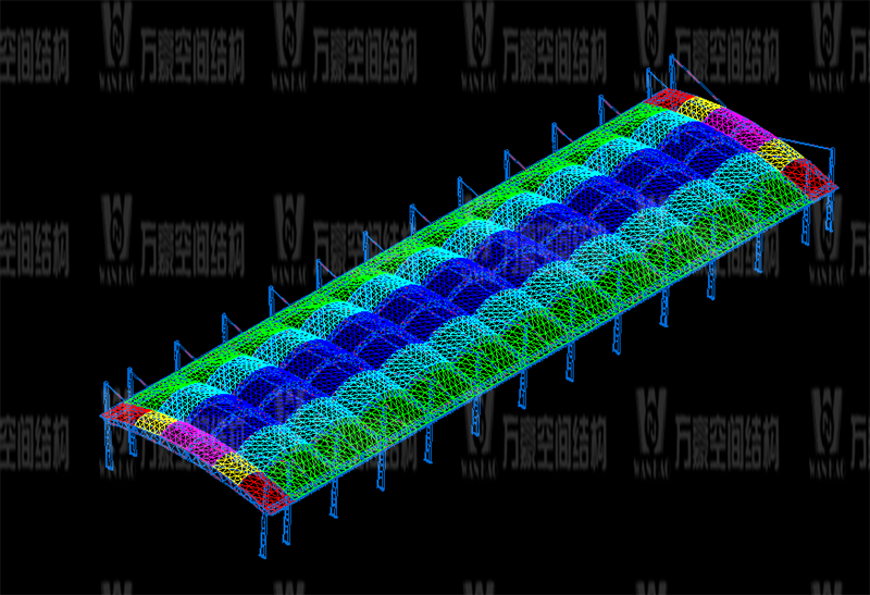 万豪2020第14标-浙江纺织服装职业技术学院东西校区运动场膜结构项目