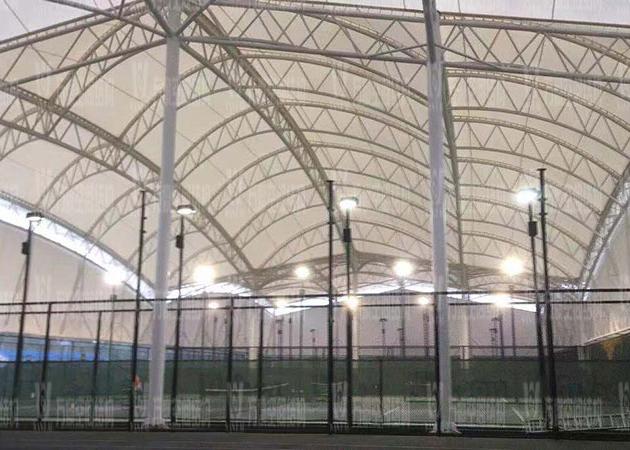 宁波(鄞州)网球中心遮阳棚膜结构工程二期项目