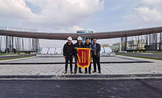 四川南充电影学院景观膜结构工程