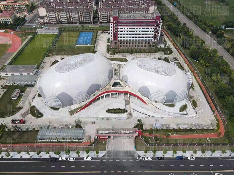 四川彭山训练基地(一期)膜结构项目竣工
