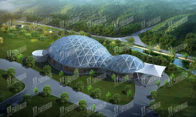 东钱湖宴会厅ETFE气枕膜结构项目