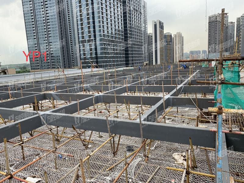 深圳龙华地铁站ETFE天幕膜结构项目