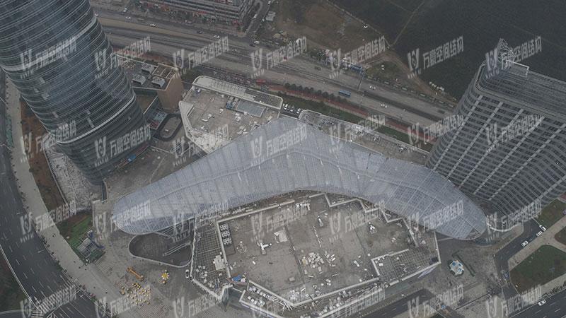 遵义高铁新城ETFE天幕膜结构项目