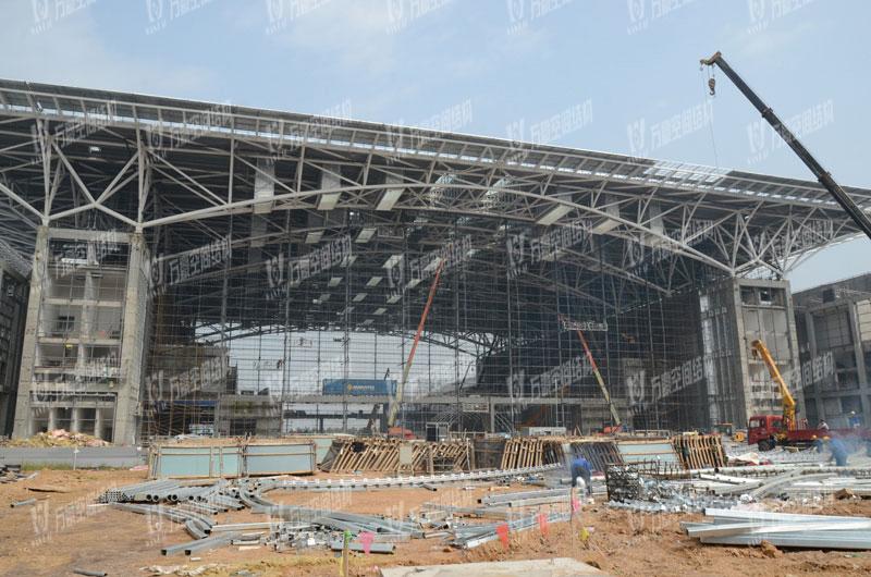 红岛国际会展中心PTFE膜结构项目t