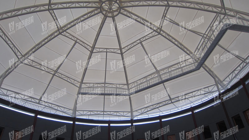 天华乡村大舞台膜结构
