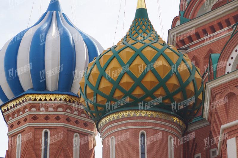 圆明新园皇家园林俄罗斯馆穹顶