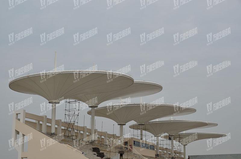常州大学体育场膜结构项目