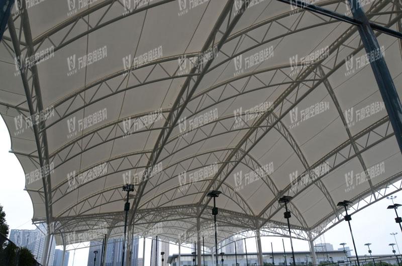 鄞州网球中心膜结构项目