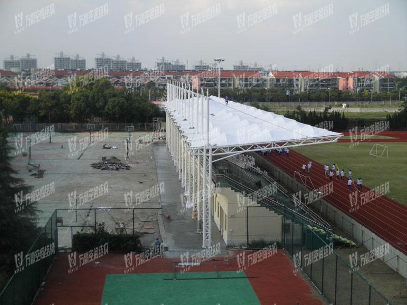 上海青浦中学体育馆膜结构项目
