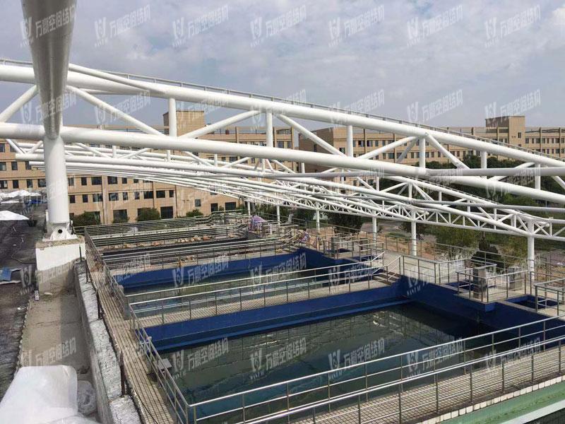 慈溪自来水厂污水池膜结构
