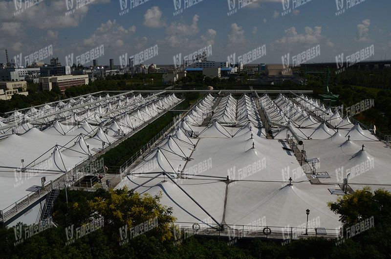 宁波北区污水池膜结构