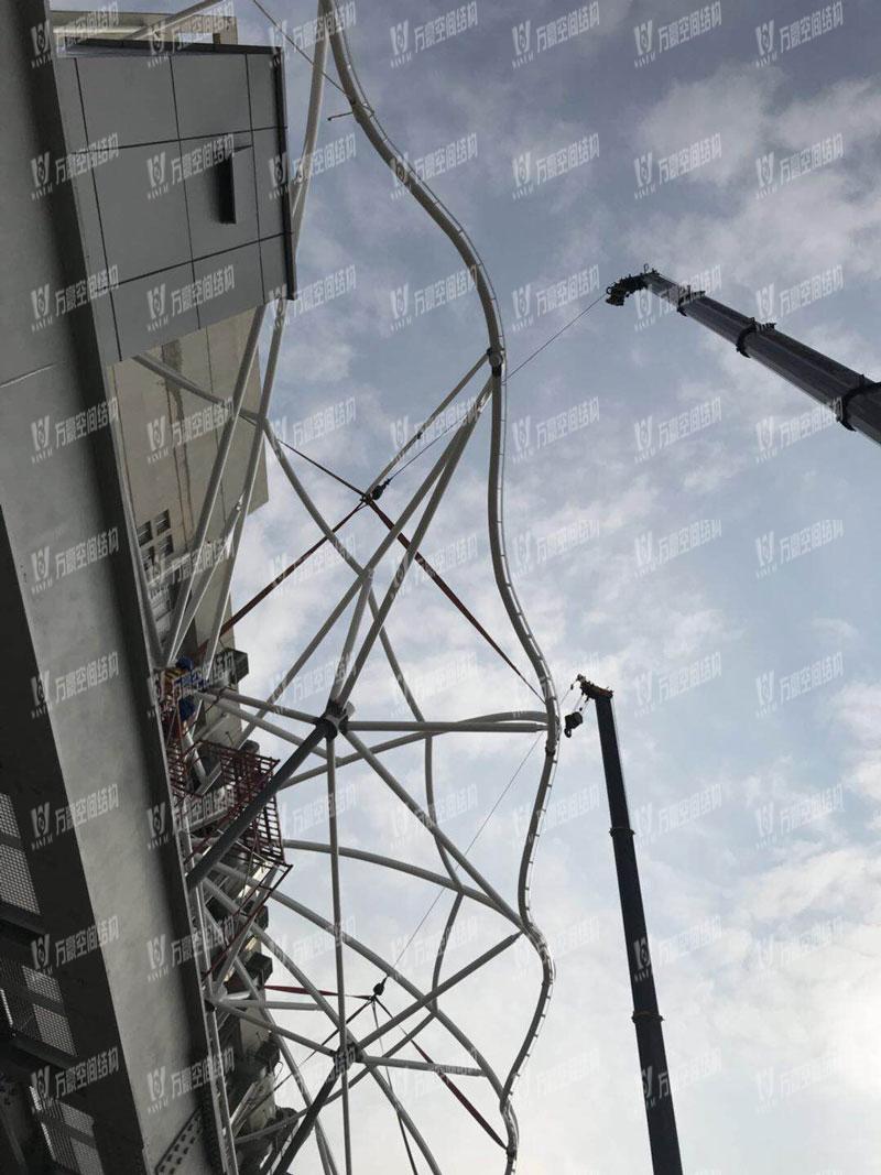 深圳比亚迪轻轨膜结构