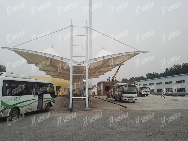 河南安阳充电站膜结构