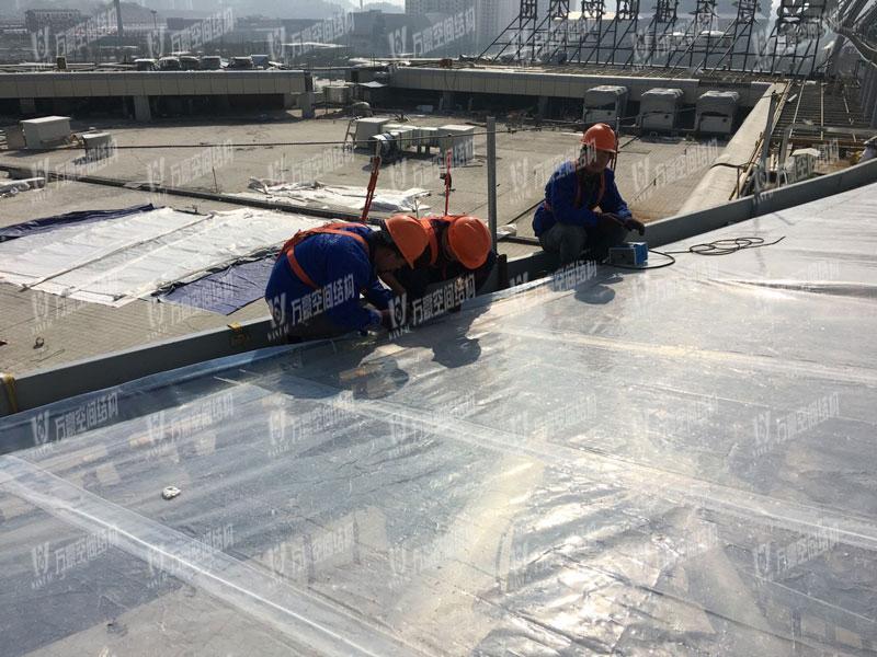 遵义高铁新城天幕膜结构项目