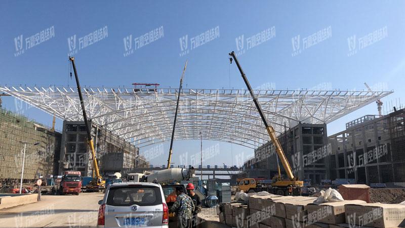 红岛国际会议中心膜结构项目